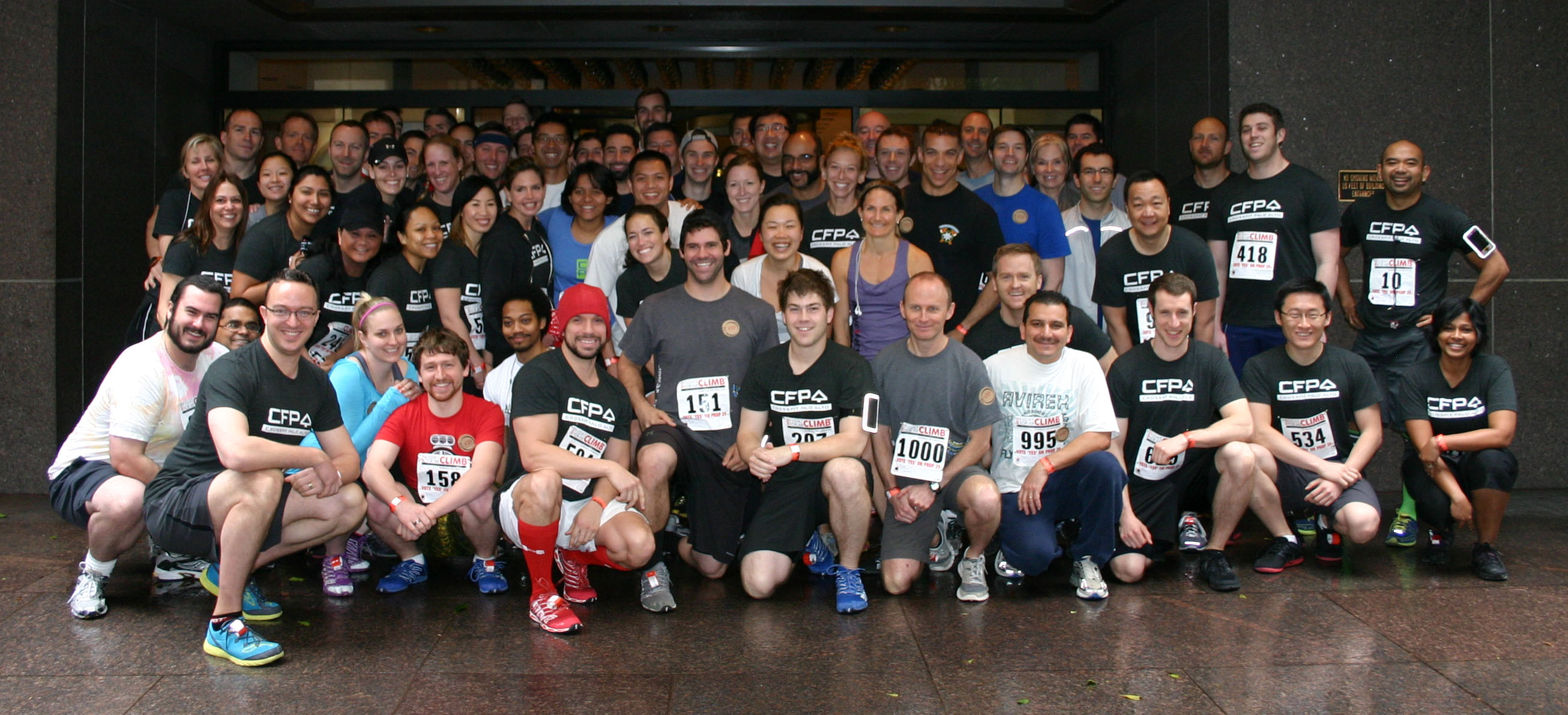 Fight For Air Climb 2013
